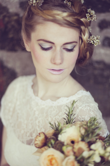 Comrie Croft Bridal Photo Shoot