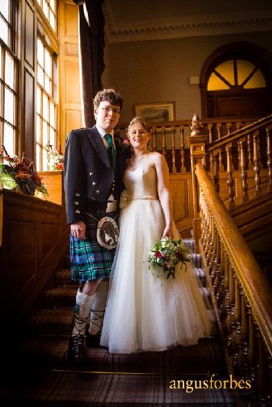 Claire Geddes wedding dress