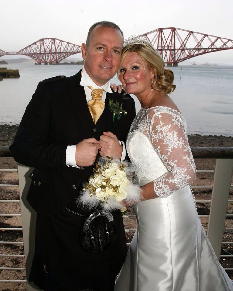 Gillian Hume wedding dress