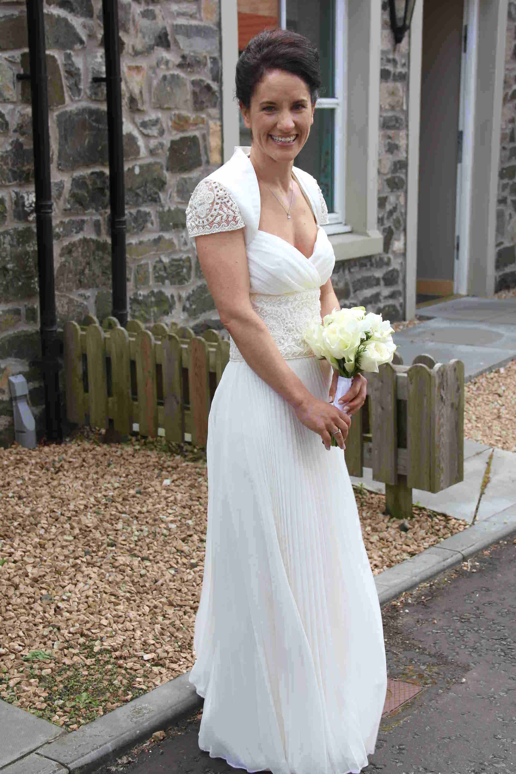 Kirsty Gillings wedding dress